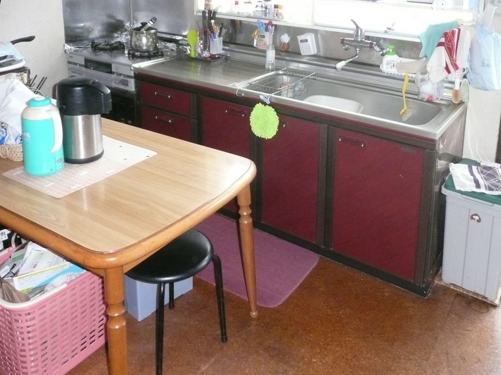 (1)施工前1 キッチン