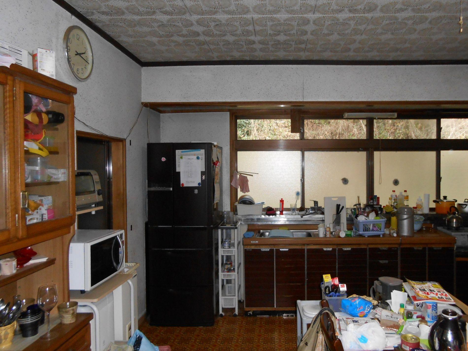 (1)施工前1 キッチン①