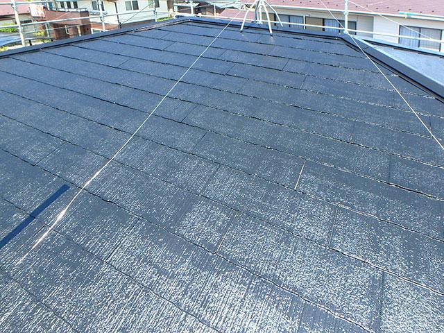 屋根塗替え施工後