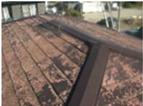 屋根化粧スレート色あせ、剥がれ