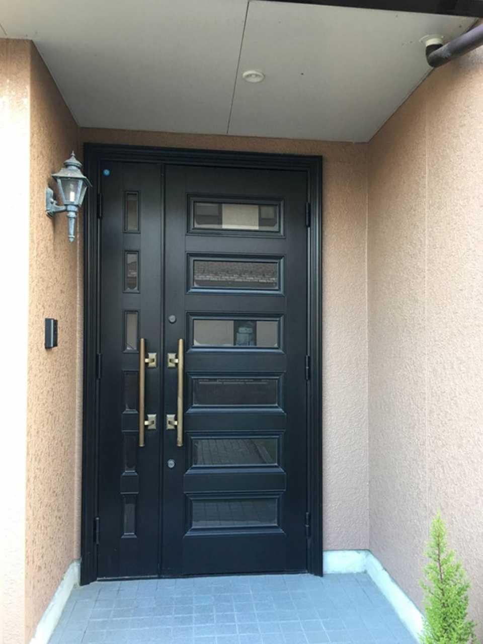 GS020玄関ドア 施工前