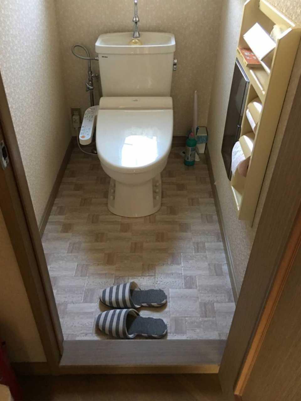 トイレ 施工前