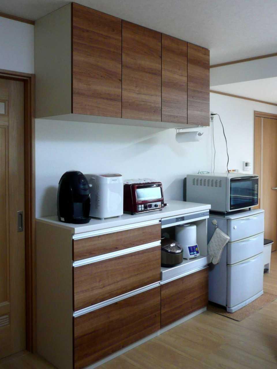 キッチン 施工後3 カップボード