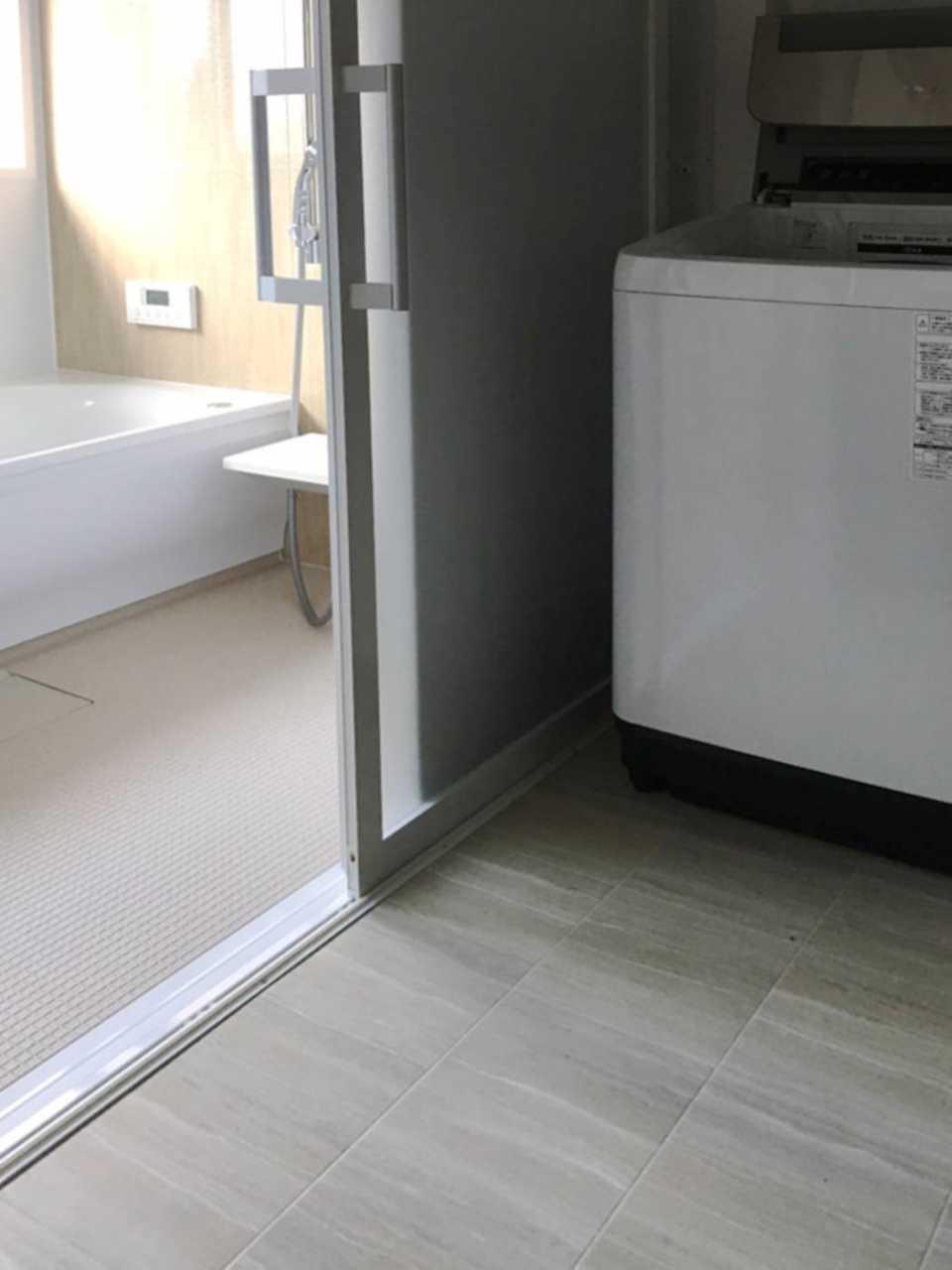 z015浴室 施工後2 バリアフリー