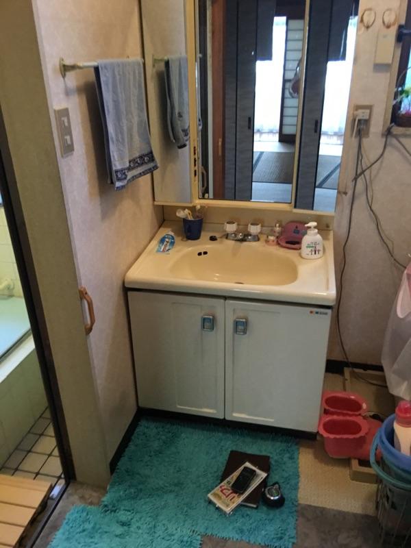 洗面 施工前