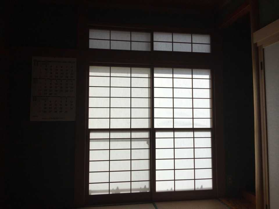 内窓 施工前