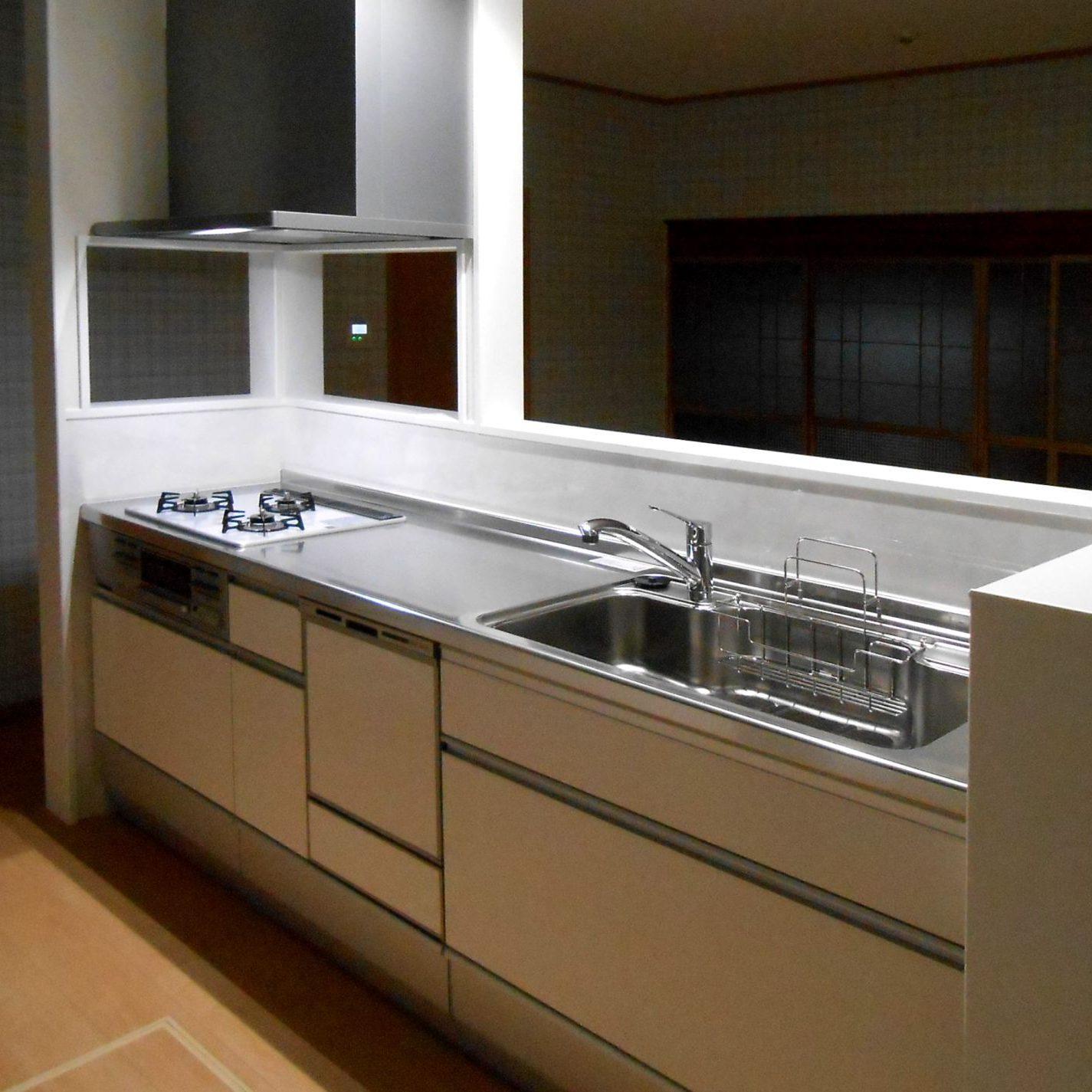 (3)施工後1 キッチン①